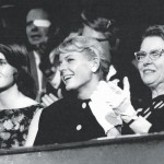 Miriam with daughters Ellie (left) and Carolyn (center) at Walter's Keynote Address at the Republican Convention, 1960