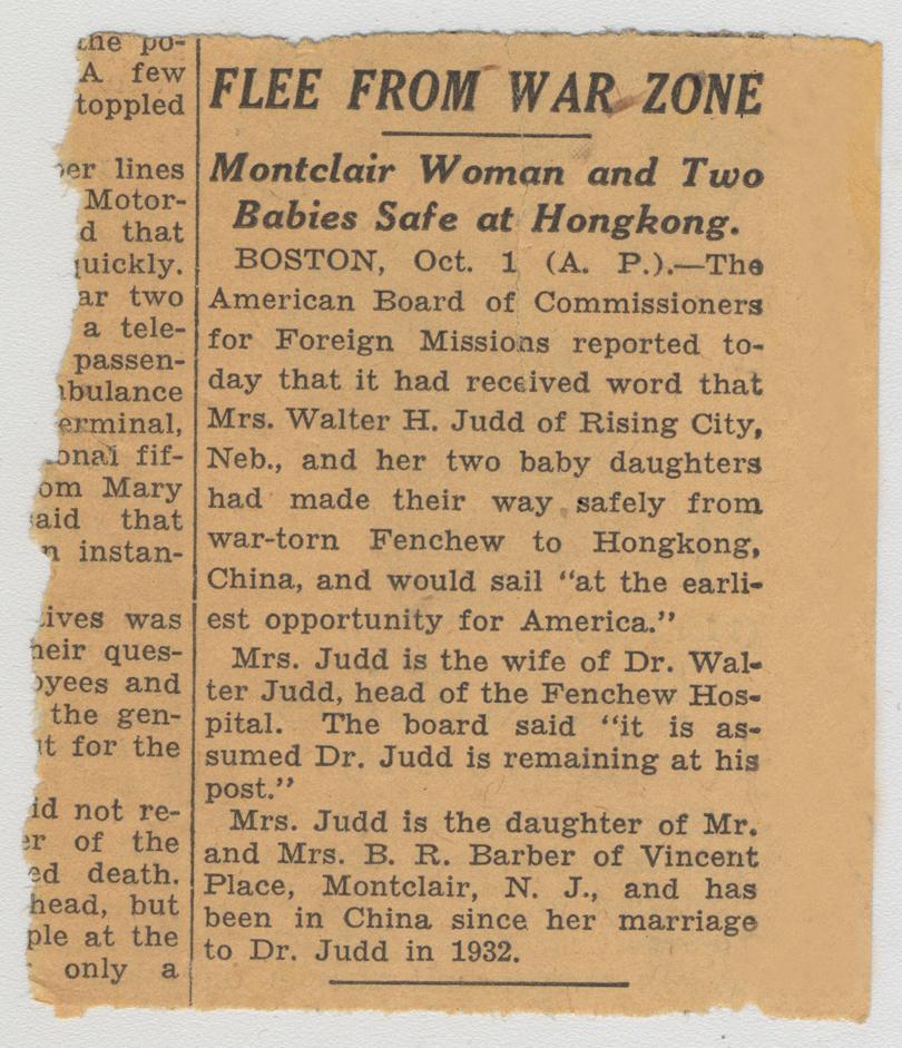 New York Evening Sun, October 1, 1937